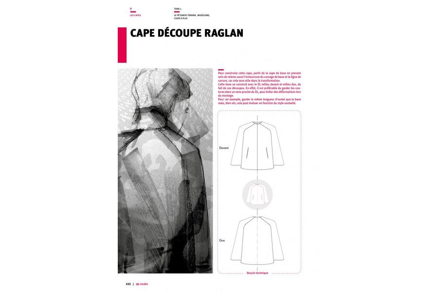 Cape découpe raglan Langue:Français