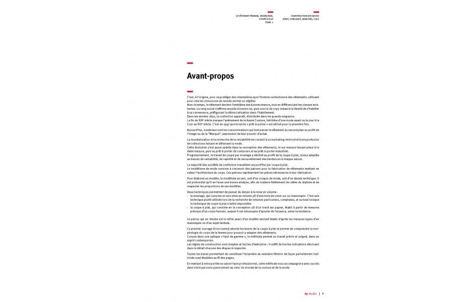 Volume 1 - Print medium in French languag
