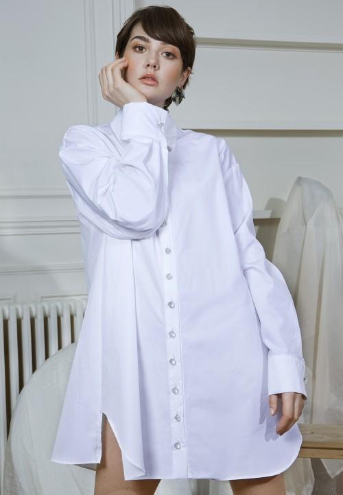 Le 606 Robe/chemise ample et déstructurée, en deux parties