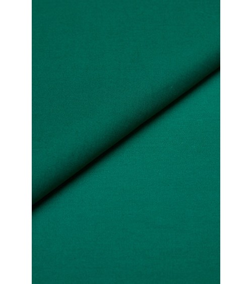 Bottle green cotton fabric