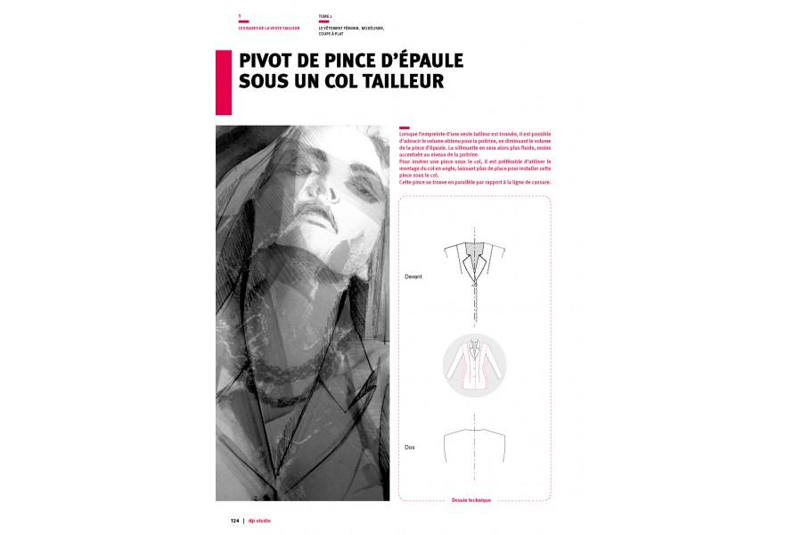 Pivot de pince d'épaule sous un col tailleur