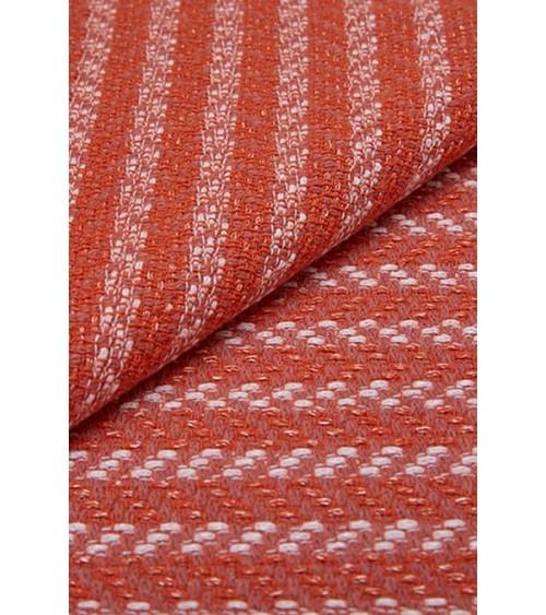 Tweed rose/saumon