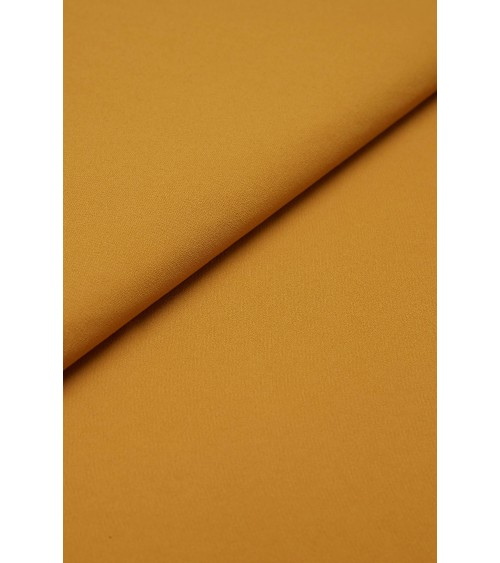 Mustard polyester fabric