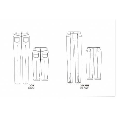 Close-fit jeans with 5 pockets