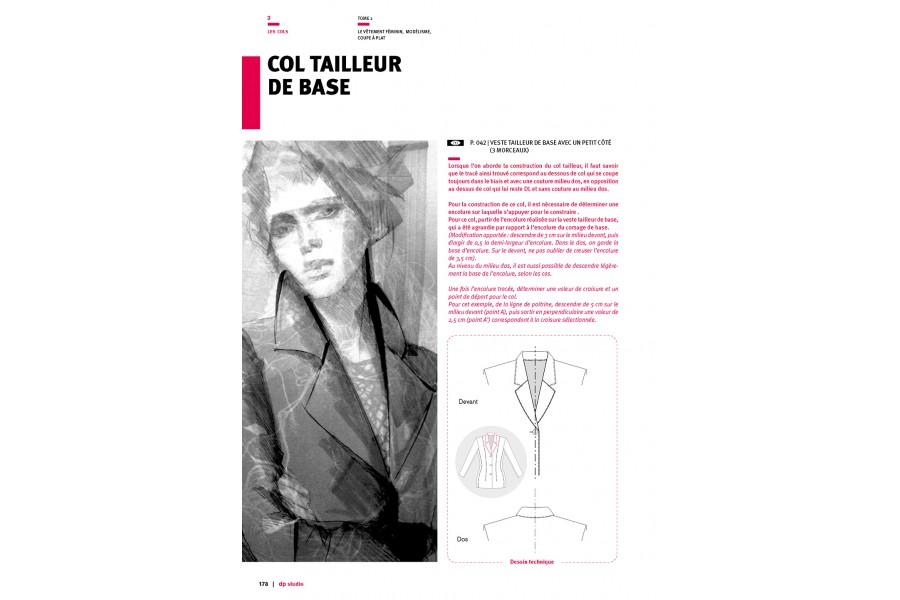 Tailored collar base pattern