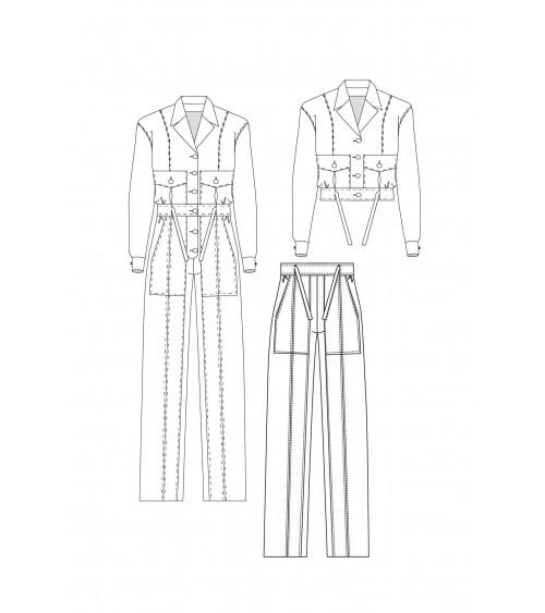 Jump suit/ Jacket/ Trouser PDF