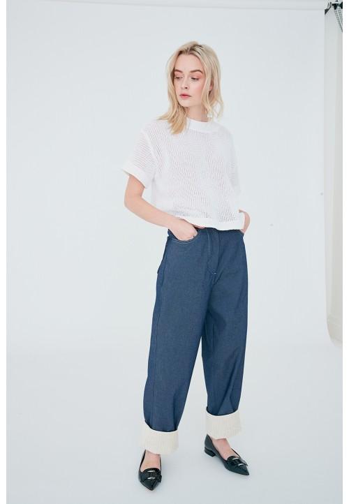 Le 309 Pantalon ample, à la taille «boy style» PDF