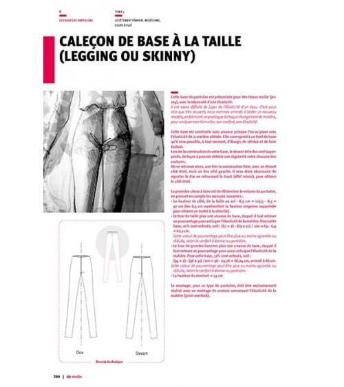 Caleçon de base à la taille (legging ou skinny)