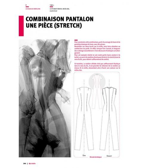 Combinaison pantalon une pièce (stretch)