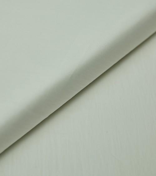 Coton/soie blanc cassé
