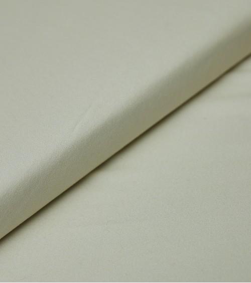 Off white wool/silk fabric