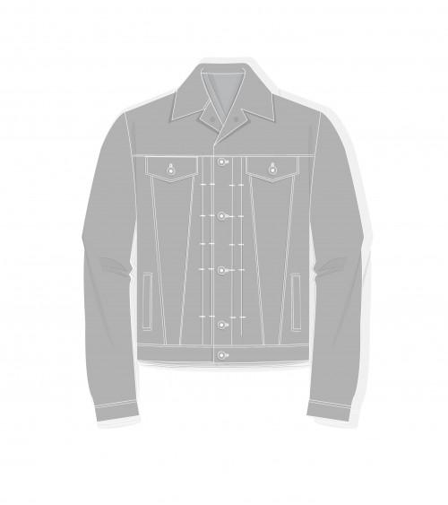 Le 1200 Jeans Jacket