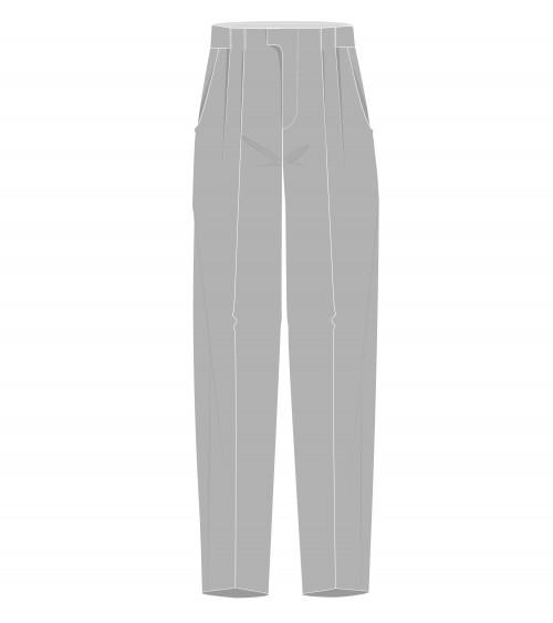 Le 1300 Pantalon ample à...
