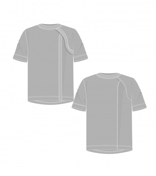 Le 1400 T-shirt with...