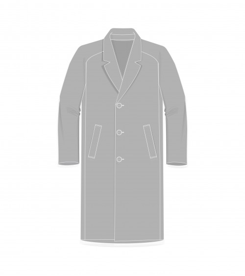 Le 1800 Manteau droit col...