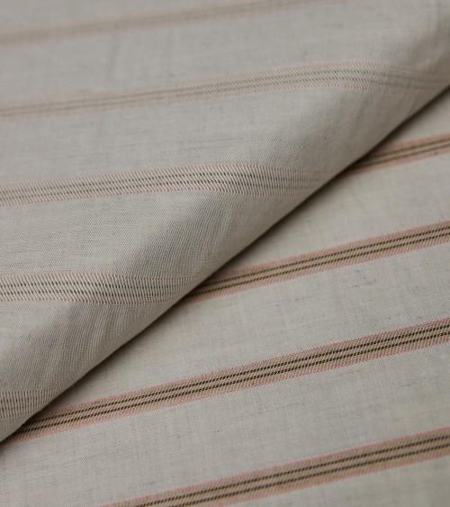 Raw/burnt Sienna stripes...