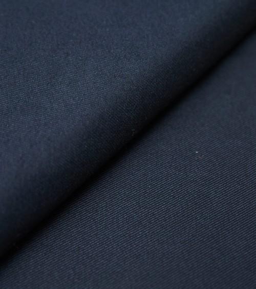 Chino coton uni bleu marine