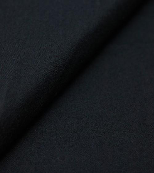 Black cotton/silk fabric