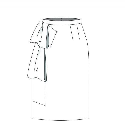 Bow skirt