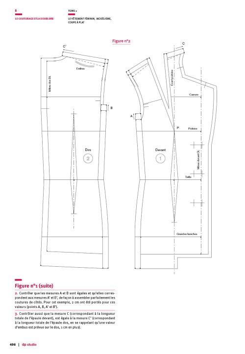 Couturage pour la veste tailleur de base trois morceaux (luxe)