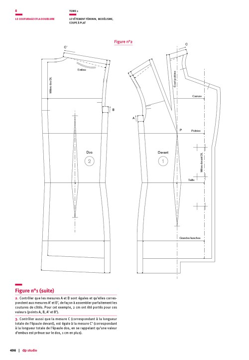 Seam allowance value for the three-piece tailored jacket base pattern (luxury)