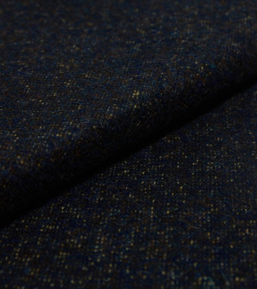 Navy blue and green heather...