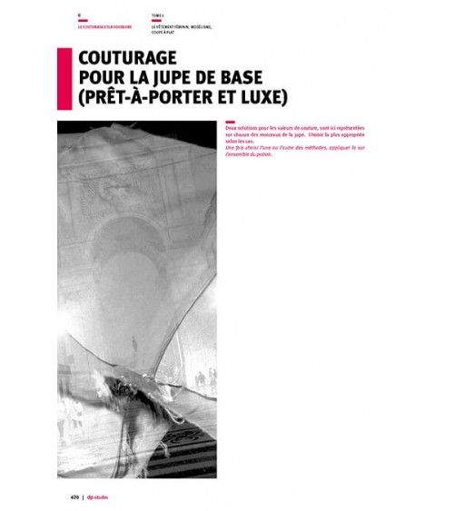 Couturage du pantalon de base (luxe)