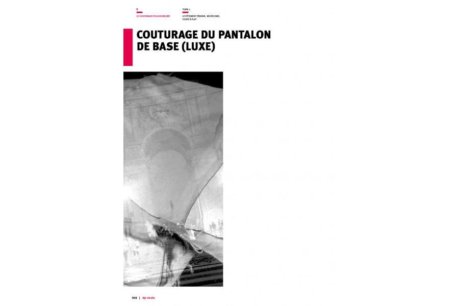 Couturage du pantalon de base (luxe)