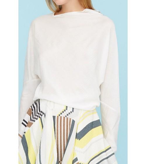 Le 002 - Knit asymmetric sweater
