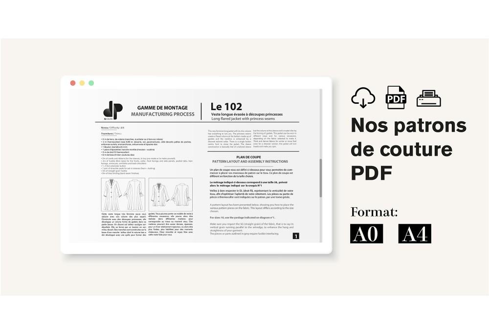 NOS PATRONS AU FORMAT PDF